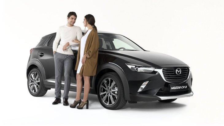 Кроссовер Mazda CX-3 Limited Edition in Partnership with Pollini