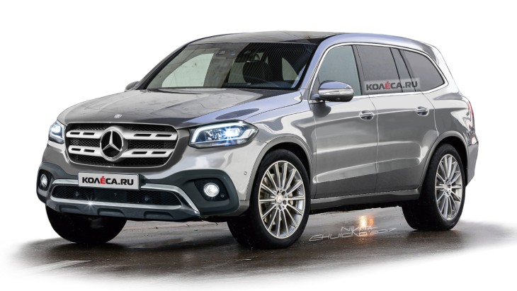 Независимый рендер нового Mercedes-Benz GLS