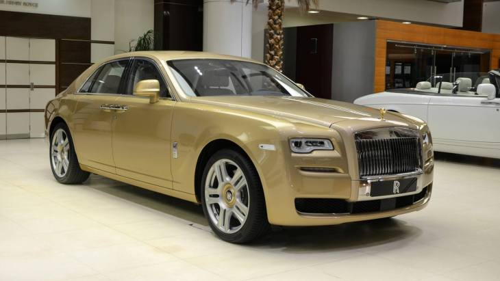 Седан Rolls-Royce Ghost Oasis Edition