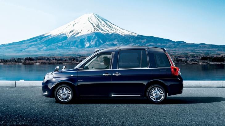 Новая модель такси Toyota JPN Taxi