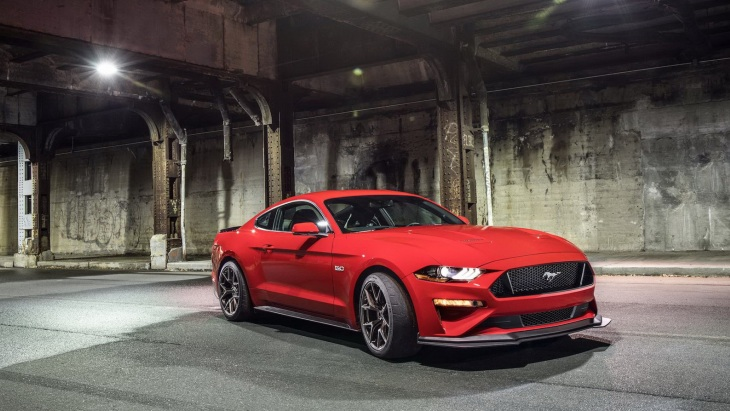 Купе Ford Mustang GT с пакетом Performance Pack Level 2