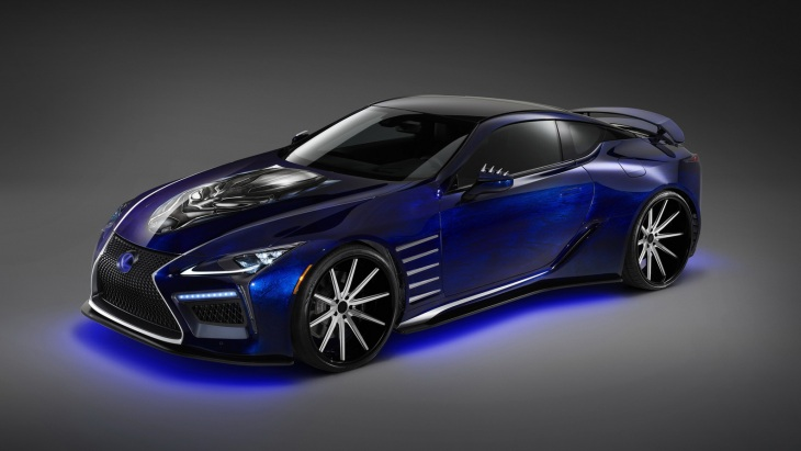 Купе Lexus LC Concept Inspired Black Panther