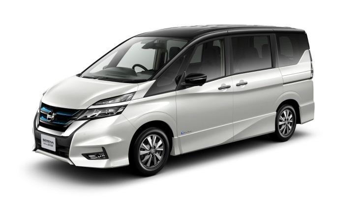 Гибридный минивэн Nissan Serena e-Power