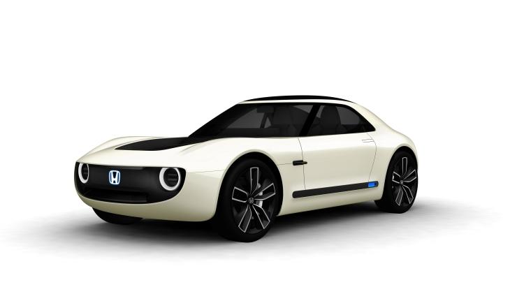 Концепт электрического спортивного купе Honda Sports EV Concept