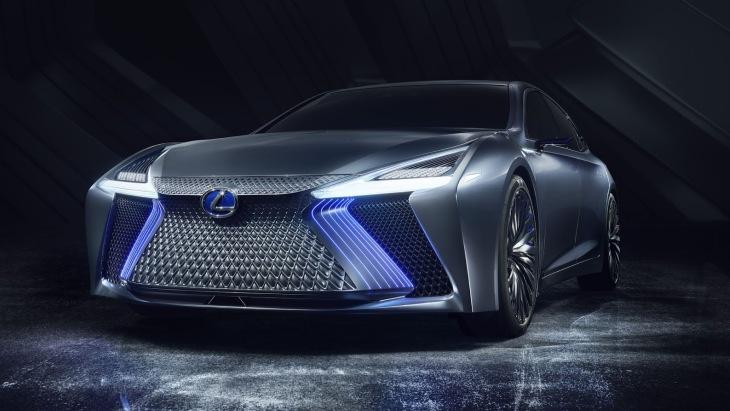 Концептуальный седан Lexus LS+ Concept