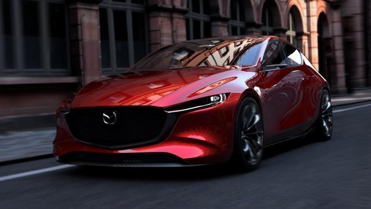 Концептуальный хэтчбек Mazda Kai Concept