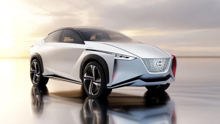 Электрический автономный кроссовер Nissan IMx Concept