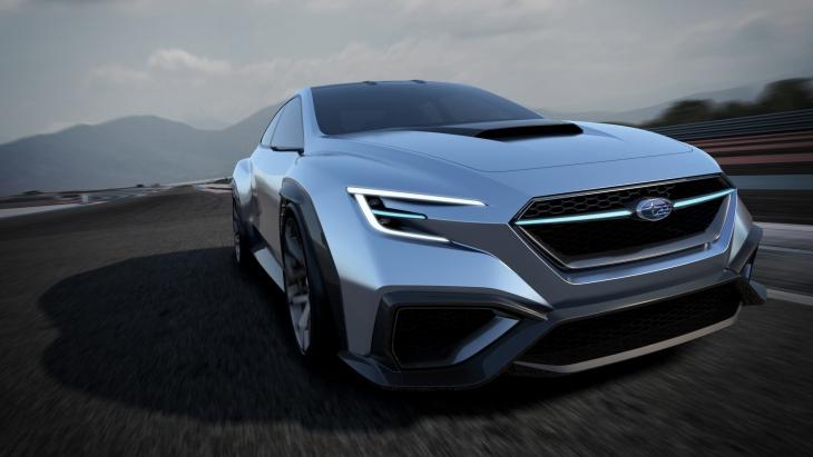 Концептуальный седан Subaru Viziv Performance Concept