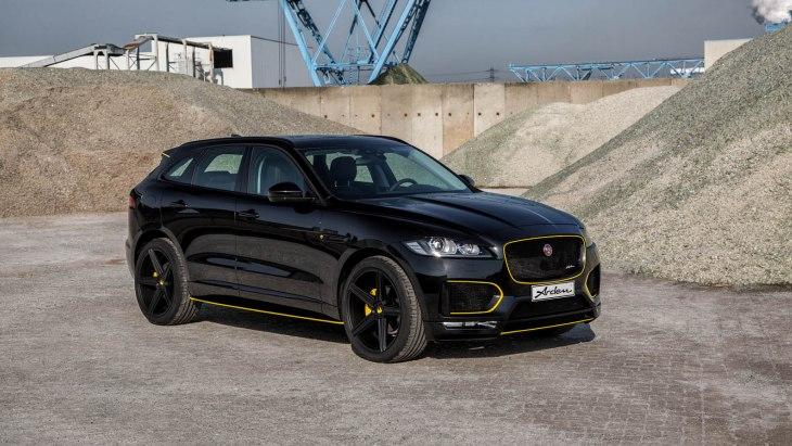 Модернизированный кроссовер Jaguar F-Pace by Arden
