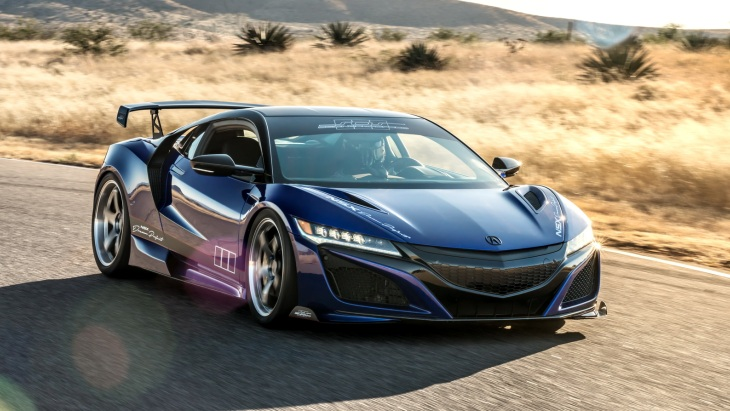 Купе Acura NSX Dream Project by ScienceOfSpeed
