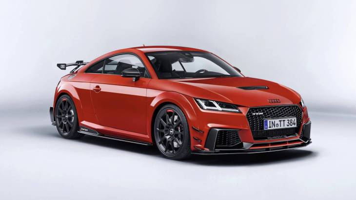 600-сильное купе Audi TT Clubsport Turbo Concept