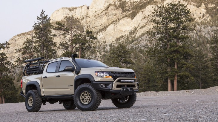 Пикап Chevrolet Colorado ZR2 AEV Concept