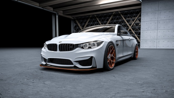 Купе BMW M4 GTS на колёсах 6Sixty Design Wheels