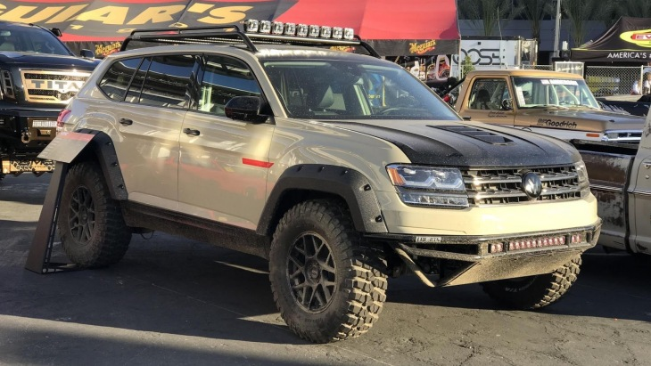Внедорожник Volkswagen Atlas by LGE CTS Motorsport