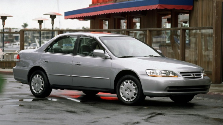 Honda Accord Sedan 2001–2002 года