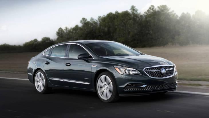 Премиум по-американски: представлен седан Buick LaCrosse Avenir - новости