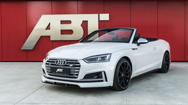 Кабриолет Audi S5 Cabriolet by ABT Sprotsline