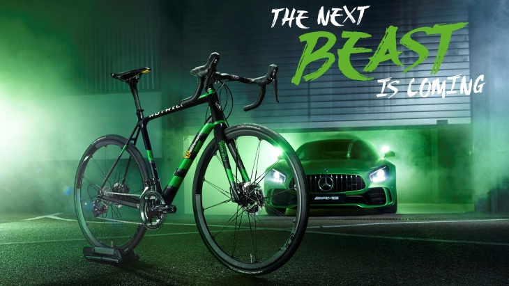 Карбоновый велосипед Rotwild R.S2 Limited Edition Beast of the Green Hell