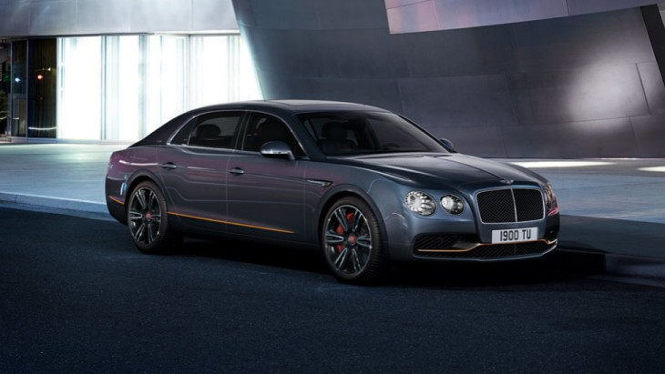 Эксклюзивный седан Bentley Flying Spur Design Series V8 S