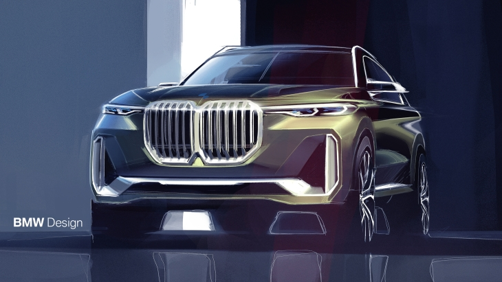 Эскиз BMW Concept X7 iPerformance