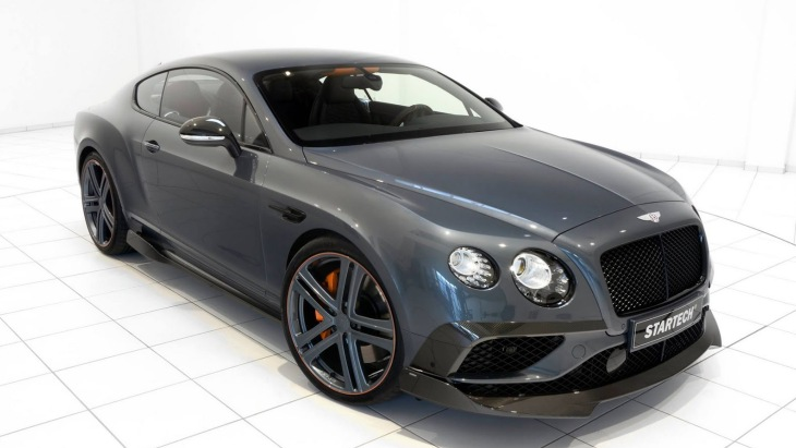 Купе Bentley Continental GT by Startech