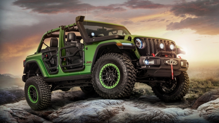 Внедорожник Jeep Wrangler Unlimited Rubicon by Mopar