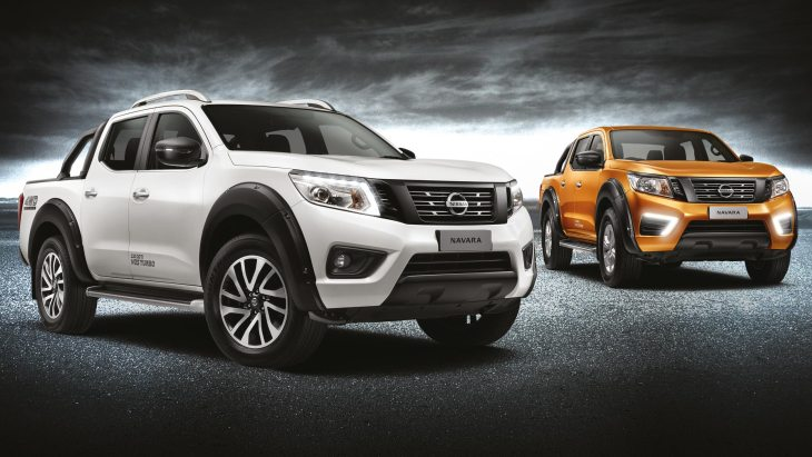 Пикап Nissan Navara Black Series