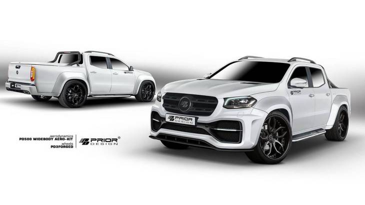 Пикап Mercedes-Benz X-Class by Prior Design