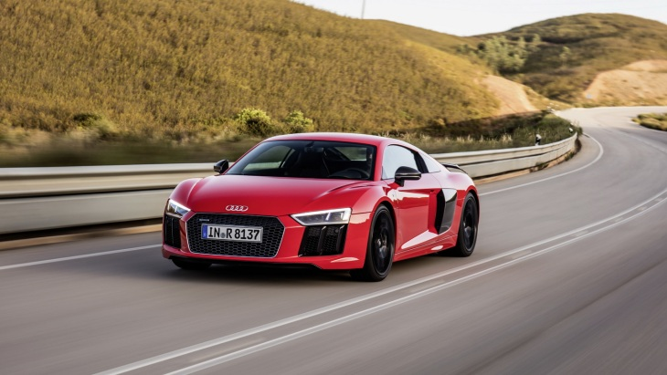 Купе Audi R8 V10 Plus Coupe Neuberg Edition