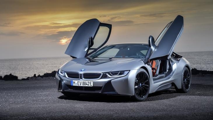 Обновлённое купе BMW i8 Coupe