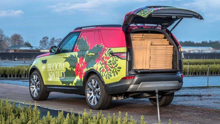 Коммерческий внедорожник Land Rover Discovery Commercial