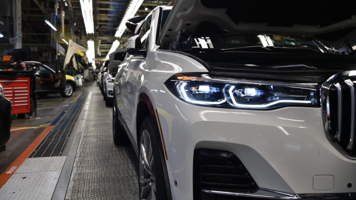 Производство внедорожника BMW X7