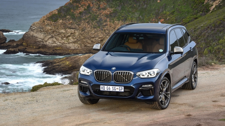 Кроссовер BMW X3 M40i