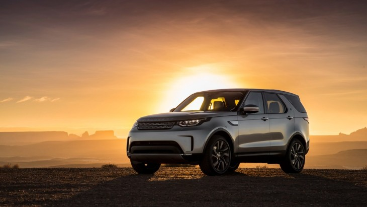 Внедорожник Land Rover Discovery нового поколения