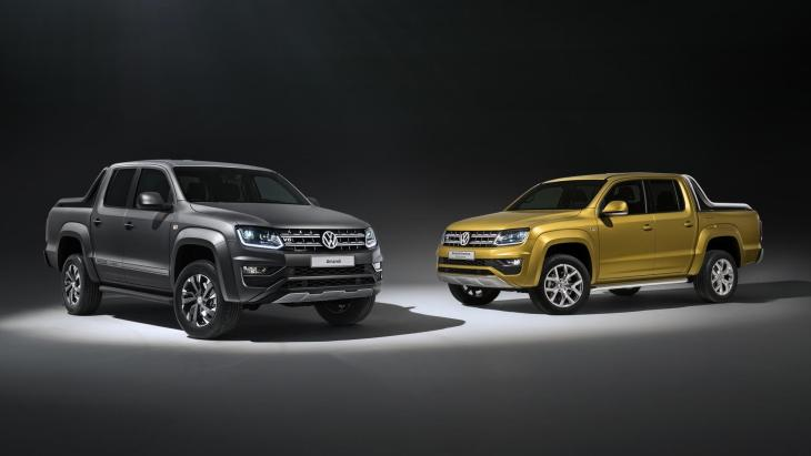 VW Amarok Aventura Exclusive Concept и Amarok Dark Label Special Edition