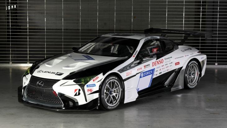 Гоночное купе Lexus LC Gazoo Racing
