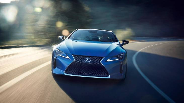Купе Lexus LC 500 Structural Blue Edition