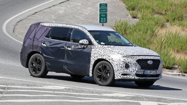 Прототип Hyundai Santa Fe нового поколения