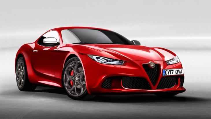 Спортивное купе Alfa Romeo 6C
