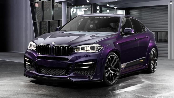 Модифицированный внедорожник BMW X6 by TopCar