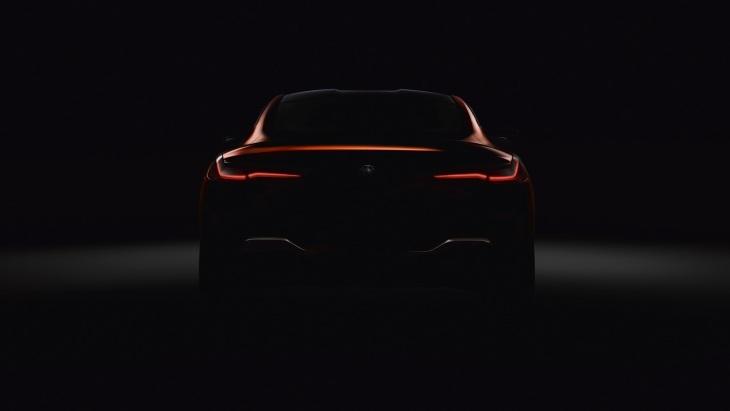Официальный тизер серийного купе BMW 8-Series Coupe
