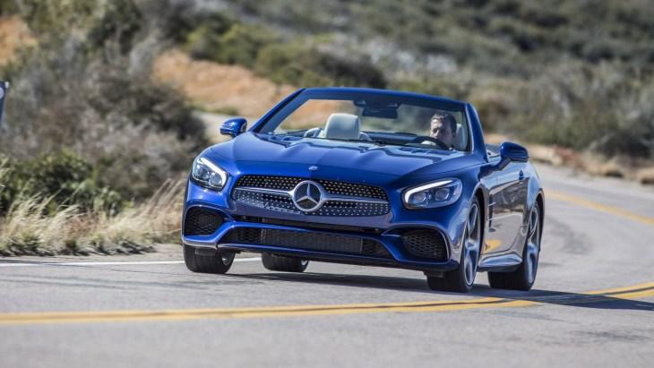 Mercedes-Benz SL-Class актуального поколения