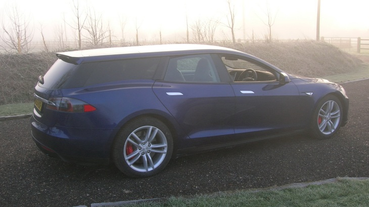 Универсал Tesla Model S Shooting Brake by Qwest