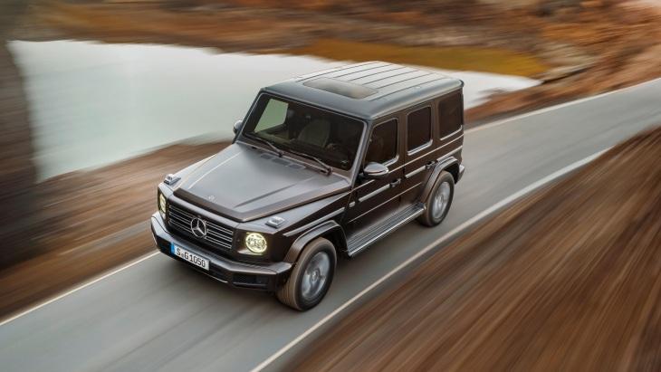 Внедорожник Mercedes-Benz G-Class нового поколения