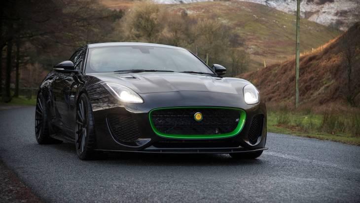 666-сильное купе Lister Thunder на базе модели Jaguar F-Type