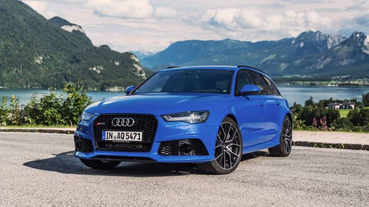 «Заряженный» универсал Audi RS6 Avant Performance Nogaro Edition