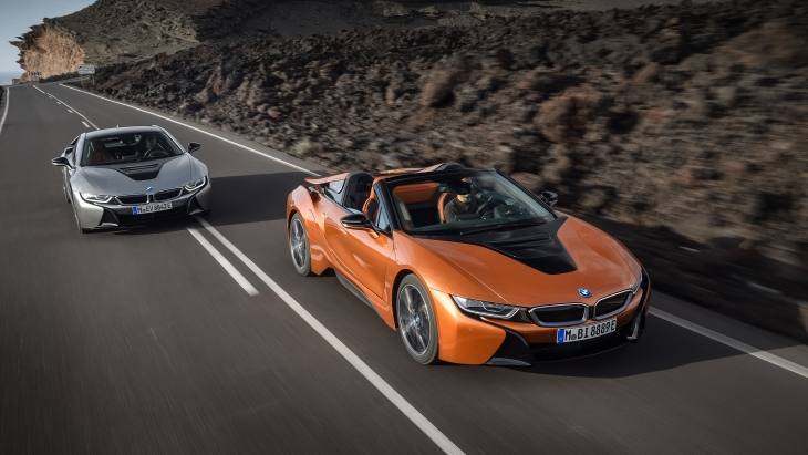 BMW i8 Coupe и BMW i8 Roadster