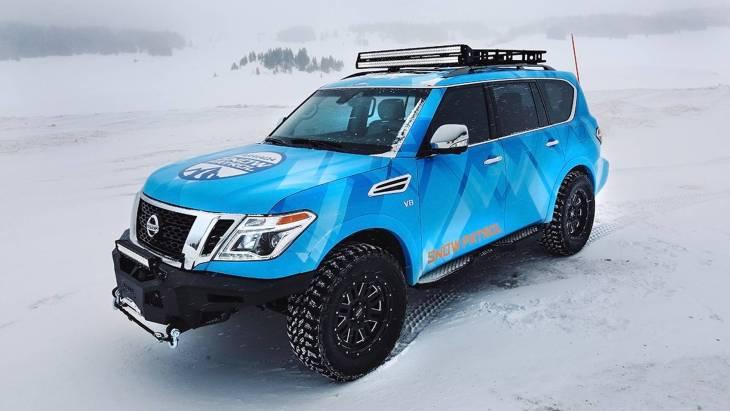 Внедорожник Nissan Armada Snow Patrol