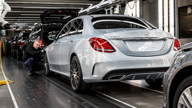 Производство автомобилей Mercedes-Benz