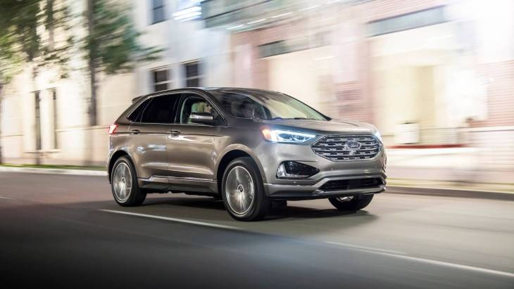 Вседорожник Ford Edge Titanium Elite 2019 модельного года